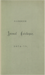 Catalogue of Kenyon College, and of the Theological Seminary of the Diocese of Ohio 1874-1875