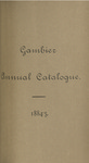 Gambier Catalogue 1884-1885