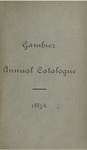 Gambier Catalogue 1885-1886