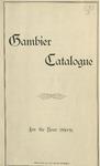 Gambier Catalogue 1890-1891