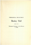 Theological Department Bexley Hall Course Catalogue 1903-1904