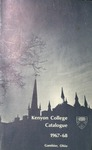 Kenyon College Catalogue 1967-1968