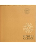 Kenyon College Catalog 1970-1971