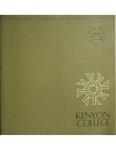 Kenyon College Catalog 1971-1972