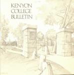 Kenyon College Bulletin 1975-1976