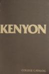Kenyon College Catalog 1979-1980