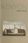 Kenyon College Catalog 1981-1982