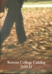 Kenyon College Catalog 2010-2011