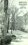 Kenyon College Catalog of Courses 1977-1978