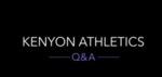 Kenyon Athletics Q&A with Jess Good by Jess Good