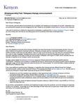 Talkspace Therapy Announcement April 22, 2020