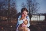Susan Holding a Chicken