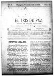 EL IRIS DE PAZ 30 de noviembre de 1901
