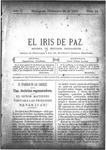 EL IRIS DE PAZ 28 de diciembre de 1901