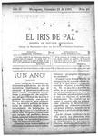 EL IRIS DE PAZ 21 de diciembre de 1901