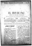 EL IRIS DE PAZ 23 de noviembre de 1901