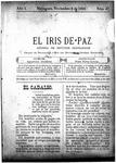 EL IRIS DE PAZ 9 de noviembre de 1901