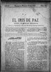EL IRIS DE PAZ 19 de octubre de 1901
