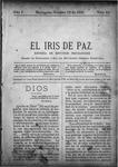 EL IRIS DE PAZ 12 de octubre de 1901