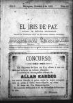 EL IRIS DE PAZ 5 de octubre de 1901