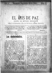 EL IRIS DE PAZ 28 de septiembre de 1901