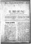 EL IRIS DE PAZ 21 de septiembre de 1901