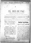 EL IRIS DE PAZ 14 de septiembre de 1901