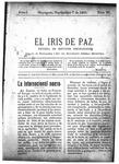 EL IRIS DE PAZ 7 de septiembre de 1901