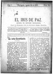 EL IRIS DE PAZ 24 de agosto de 1901