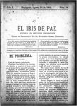 EL IRIS DE PAZ 10 de agosto de 1901