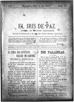 EL IRIS DE PAZ 27 de julio de 1901