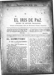 EL IRIS DE PAZ 20 de julio de 1901