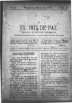 EL IRIS DE PAZ 13 de julio de 1901