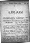 EL IRIS DE PAZ 29 de junio de 1901