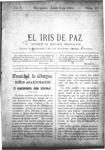 EL IRIS DE PAZ 8 de junio de 1901