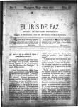 EL IRIS DE PAZ 18 de mayo de 1901