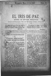 EL IRIS DE PAZ 11 de mayo de 1901