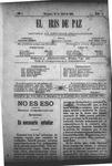 EL IRIS DE PAZ 20 de abril de 1901