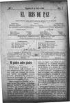 EL IRIS DE PAZ 13 de abril de 1901