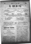 EL IRIS DE PAZ 23 de marzo de 1901