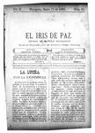 EL IRIS DE PAZ 11 de enero de 1902