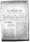 EL IRIS DE PAZ 18 de enero de 1902