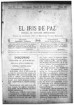 EL IRIS DE PAZ 25 de enero de 1902