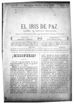 EL IRIS DE PAZ 15 de febrero de 1902
