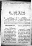 EL IRIS DE PAZ 22 de febrero de 1902