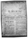 EL IRIS DE PAZ 26 de abril de 1902