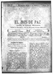 EL IRIS DE PAZ 3 de mayo de 1902