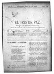 EL IRIS DE PAZ 21 de junio de 1902
