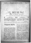 EL IRIS DE PAZ 28 de junio de 1902