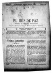 EL IRIS DE PAZ 30 de agosto de 1902